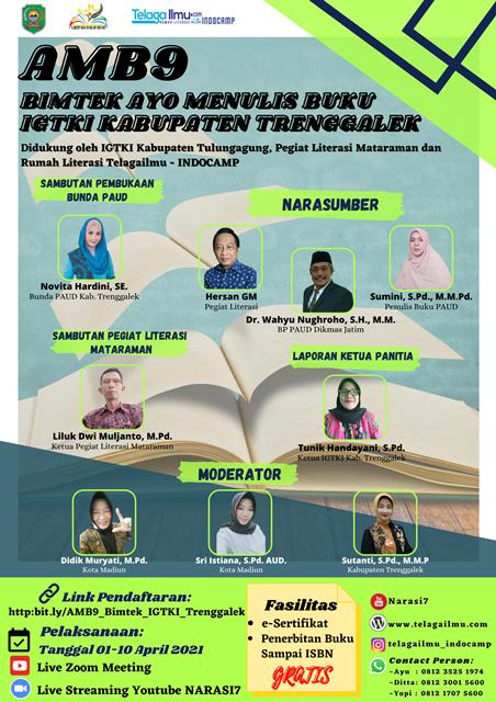 Bimtek AMB9 IGTKI Kabupaten Trenggalek